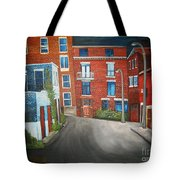 Streets Of Montreal  Joly Tote Bag