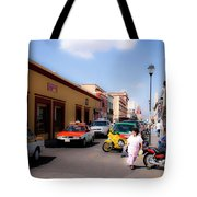 Streets Of Oaxaca Mexico 1 Tote Bag