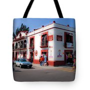 Streets Of Oaxaca Mexico 3 Tote Bag