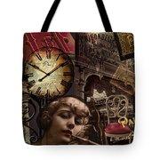 Streets Of Paris II Tote Bag