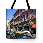 Streets Of Puebla 3 Tote Bag