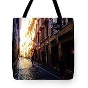 Streets Of Rome 2 Tote Bag