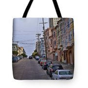 Streets Of San Francisco -2 Tote Bag