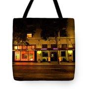 Streets Of San Jose, Ca Midnight Tote Bag