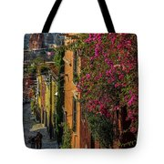 Streets Of San Miguel Tote Bag