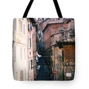 Streets Of Siena Photograph Tote Bag