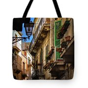 Streets Of Siracusa Tote Bag