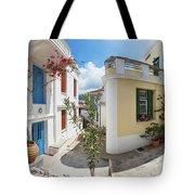 Streets Of Skopelos Tote Bag