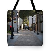 Streets Of St. Augustine Tote Bag