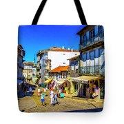 Streets Of Valenca Tote Bag