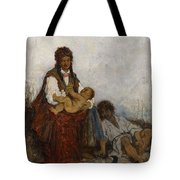 Streitt, Franciszek 1839 Brody - 1890  Rest On The Field. 1875. Tote Bag
