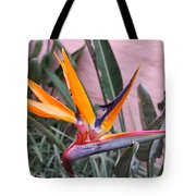 Strelitzia Double Bloom Tote Bag