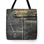 Stremel Bros. Firedoor Tote Bag