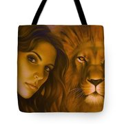 Strenght And Tenderness Tote Bag