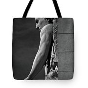 Strength B-w Tote Bag