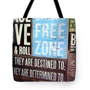 Stress Free Zone  Tote Bag
