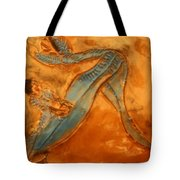 Stretchy Legs - Tile Tote Bag