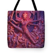 Striding Vishnu Tote Bag