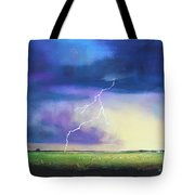 Strike From The Heavens Tote Bag