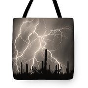 Striking Photography In Sepia Tote Bag