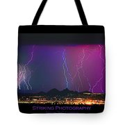 Striking Photography Tote Bag