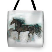 Striking Stallion Tote Bag