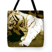 Striking Tiger Tote Bag