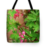 String Of Bleeding Hearts Tote Bag