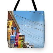 String Of Lights Tote Bag
