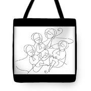 String Quartet Tote Bag