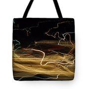 Strings Of Light Tote Bag