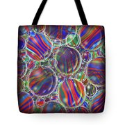 Striped Biggons Marbles Tote Bag