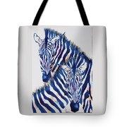 Striped Love Tote Bag