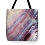 Striped Quartz Tote Bag