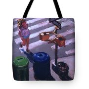 Stripes -- Crossing Broadway Tote Bag