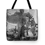 Stripped Pair Tote Bag by Jeff Swanson