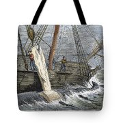 Stripping Whale Blubber Tote Bag by Granger