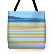 Stripy Shores Tote Bag