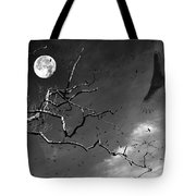 Stroke Of Midnight Tote Bag