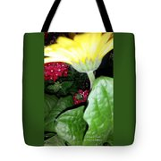Strokes Of Yellow Tote Bag