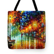 Stroll In The Fog Tote Bag