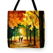 Stroll In The Forest Tote Bag
