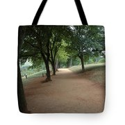 Stroll On Mulberry Row Monticello Tote Bag