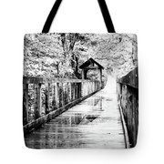 Stroll Through The Woods Tote Bag by Valeria Donaldson