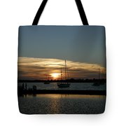 Strolling In The Sunset Tote Bag