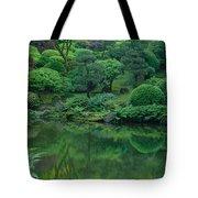 Strolling Pond Serenity Tote Bag