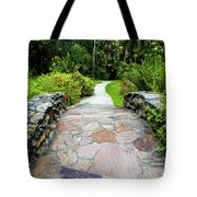 Strolling Through Paradise Tote Bag