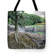 Strong Roots In Japan Tote Bag