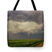 Strong Storms In South Central Nebraska 008 Tote Bag