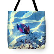 Strong Teeth. Very Tasty Corals. Hollywood Smile. Tote Bag